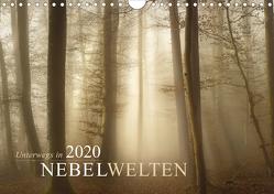 Unterwegs in Nebelwelten (Wandkalender 2020 DIN A4 quer) von Maier,  Norbert