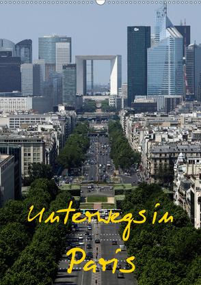 Unterwegs in Paris (Wandkalender 2020 DIN A2 hoch) von Irlenbusch,  Roland