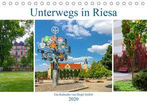 Unterwegs in Riesa (Tischkalender 2020 DIN A5 quer) von Seifert,  Birgit