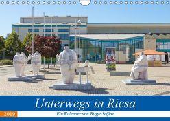 Unterwegs in Riesa (Wandkalender 2019 DIN A4 quer) von Seifert,  Birgit