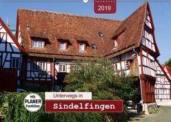 Unterwegs in Sindelfingen (Wandkalender 2019 DIN A2 quer) von Keller,  Angelika
