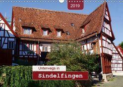 Unterwegs in Sindelfingen (Wandkalender 2019 DIN A3 quer) von Keller,  Angelika