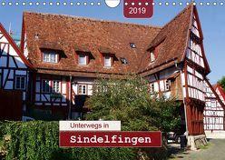 Unterwegs in Sindelfingen (Wandkalender 2019 DIN A4 quer) von Keller,  Angelika