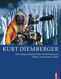 Unterwegs zwischen Null und Achttausend von Diemberger,  Kurt