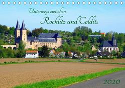 Unterwegs zwischen Rochlitz und Colditz (Tischkalender 2020 DIN A5 quer) von Seidel,  Thilo