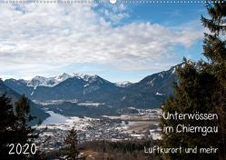 Unterwössen im Chiemgau – Luftkurort und mehr (Wandkalender 2020 DIN A2 quer) von Möller,  Michael