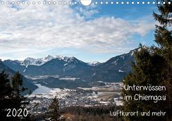 Unterwössen im Chiemgau – Luftkurort und mehr (Wandkalender 2020 DIN A4 quer) von Möller,  Michael