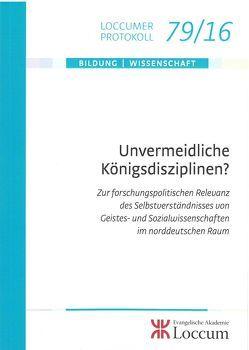 Unvermeidliche Königsdidziplinen von Schaede,  Stephan