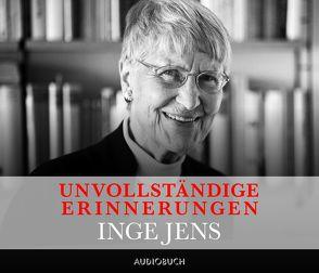 Unvollständige Erinnerungen von Jens,  Inge, Zimber,  Corinna
