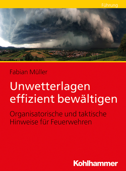 Unwetterlagen effizient bewältigen von Müller,  Fabian