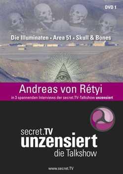 Unzensiert – Die Talkshow – DVD 1 von Conrad,  Jo, Helsing,  Jan van, Rétyi,  Andreas von