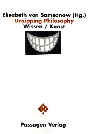 Unzipping Philosophy von Samsonow,  Elisabeth von