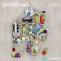 Upcycling 2021 – Wand-Kalender – Broschüren-Kalender – 30×30 – 30×60 geöffnet – Kreativ-Kalender
