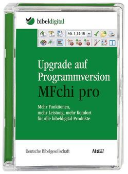 Upgrade auf Programmversion MFchi pro