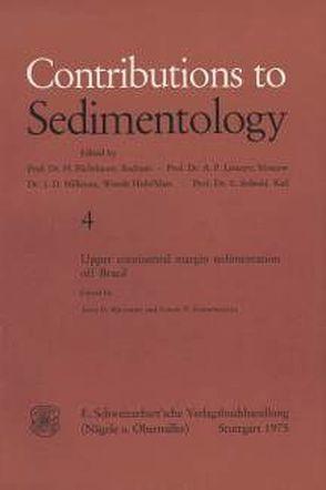 Upper Continental Margin Sedimentation of Brasil von Milliman,  John D, Summerhayes,  Colin P