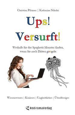 Ups! Versurft! von Nikolai,  Katharina, Pfitzner,  Christian