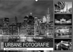 URBANE FOTOGRAFIE Zwölf klassische Impressionen (Wandkalender 2019 DIN A2 quer) von Viola,  Melanie
