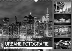 URBANE FOTOGRAFIE Zwölf klassische Impressionen (Wandkalender 2020 DIN A3 quer) von Viola,  Melanie