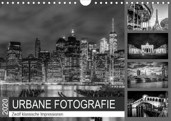 URBANE FOTOGRAFIE Zwölf klassische Impressionen (Wandkalender 2020 DIN A4 quer) von Viola,  Melanie