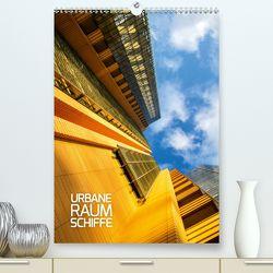 Urbane Raumschiffe (Premium, hochwertiger DIN A2 Wandkalender 2020, Kunstdruck in Hochglanz) von Grossbauer,  Sabine
