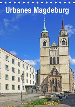 Urbanes Magdeburg (Tischkalender 2020 DIN A5 hoch) von Bussenius,  Beate