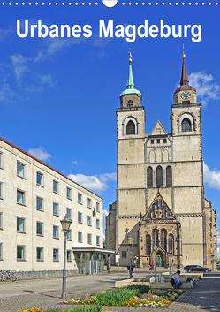 Urbanes Magdeburg (Wandkalender 2020 DIN A3 hoch) von Bussenius,  Beate