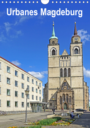 Urbanes Magdeburg (Wandkalender 2020 DIN A4 hoch) von Bussenius,  Beate