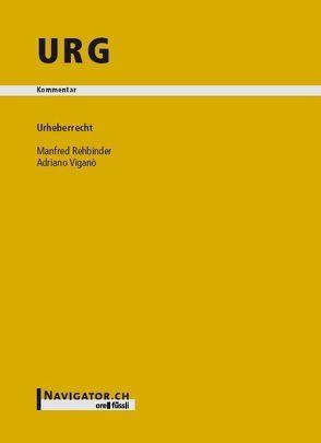 URG Kommentar von Rehbinder,  Manfred, Viganò,  Adriano