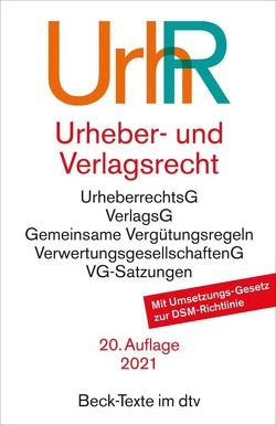 Urheber- und Verlagsrecht von Hillig,  Hans-Peter