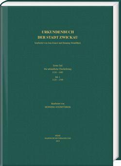 Urkundenbuch der Stadt Zwickau von Steinführer,  Henning