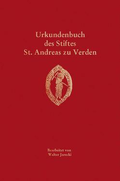 Urkundenbuch des Stiftes St. Andreas zu Verden von Historische Kommission für Niedersachsen und Bremen, Jarecki,  Walter, Nistal,  Matthias