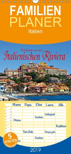 Urlaub an der Italienischen Riviera – Familienplaner hoch (Wandkalender 2019 , 21 cm x 45 cm, hoch) von LianeM