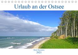 Urlaub an der Ostsee (Tischkalender 2021 DIN A5 quer) von Bussenius,  Beate