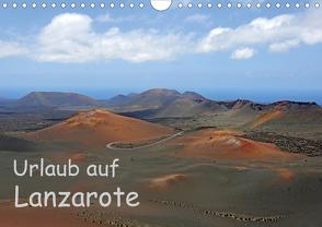 Urlaub auf Lanzarote (Wandkalender 2021 DIN A4 quer) von Eppele,  Klaus