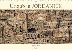 Urlaub in JORDANIEN (Wandkalender 2021 DIN A3 quer) von Eppele,  Klaus