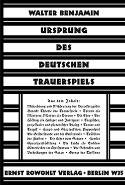 Ursprung des deutschen Trauerspiels von Benjamin,  Walter, Reuss,  Roland