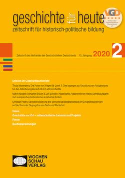 Urteilen im Geschichtsunterricht von Bräuer,  Benjamin, Hasenberg,  Tobias, Nitsche,  Martin, Peters,  Christian, Scheller,  Jan