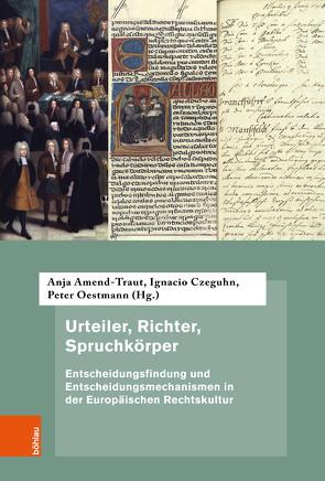 Urteiler, Richter, Spruchkörper von Amend-Traut,  Anja, Czeguhn,  Ignacio, Oestmann,  Peter