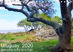 Uruguay – Bienvenido al Río de la Plata (Tischkalender 2020 DIN A5 quer) von Ruhm Mannheim,  Günter