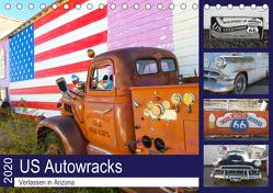 US Autowracks – Verlassen in Arizona (Tischkalender 2020 DIN A5 quer) von Schindler,  Michael