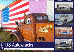 US Autowracks – Verlassen in Arizona (Wandkalender 2020 DIN A2 quer) von Schindler,  Michael