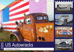 US Autowracks – Verlassen in Arizona (Wandkalender 2020 DIN A4 quer) von Schindler,  Michael