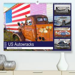 US Autowracks – Verlassen in Arizona (Premium, hochwertiger DIN A2 Wandkalender 2020, Kunstdruck in Hochglanz) von Schindler,  Michael
