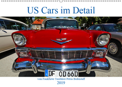 US Cars im Detail vom Frankfurter Taxifahrer Petrus Bodenstaff (Wandkalender 2019 DIN A2 quer) von Bodenstaff,  Petrus, Vahlberg-Ruf,  Karin