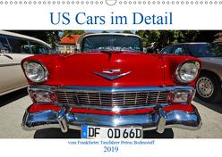 US Cars im Detail vom Frankfurter Taxifahrer Petrus Bodenstaff (Wandkalender 2019 DIN A3 quer) von Bodenstaff,  Petrus, Vahlberg-Ruf,  Karin