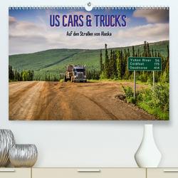 US Cars & Trucks in Alaska / CH-Version (Premium, hochwertiger DIN A2 Wandkalender 2021, Kunstdruck in Hochglanz) von Wenk,  Marcel