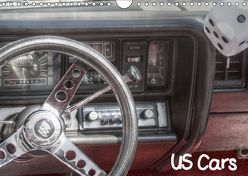 US Cars (Wandkalender 2019 DIN A4 quer)