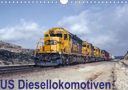 US Diesellokomotiven (Wandkalender 2021 DIN A4 quer) von Schulz-Dostal,  Michael