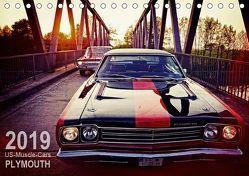 US-Muscle-Cars – Plymouth (Tischkalender 2019 DIN A5 quer) von Silberstein,  Reiner