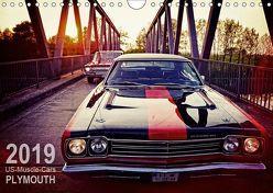 US-Muscle-Cars – Plymouth (Wandkalender 2019 DIN A4 quer) von Silberstein,  Reiner